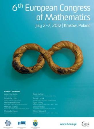 Doi romani, premiati la Congresul European de Matematica din Polonia