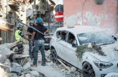 Doi romani au fost arestati pentru ca au furat dintr-un sat din regiunea Amatrice, devastata de cutremur