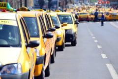 Doi taximetristi care au participat la protestul din Piata Victoriei au fost amendati