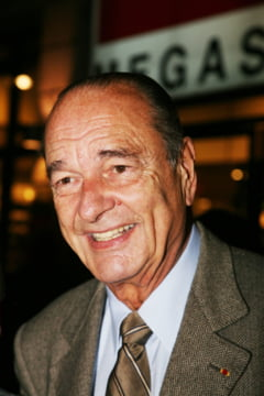 Doliu national in Franta pentru Jacques Chirac