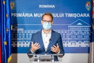 """Dominic Fritz, despre carantinarea municipiului Timisoara: """"Este necesara pentru a preveni un colaps, altfel iminent, al sistemului sanitar"""""""