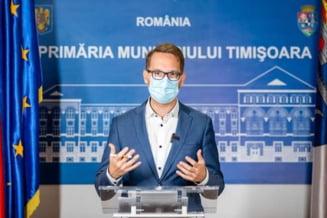 """Dominic Fritz a anuntat ca Timisoara ar putea sa intre in carantina: """"Nu mai sunt locuri libere in spitalele COVID si la ATI"""""""