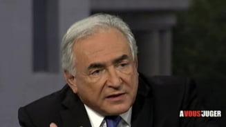Dominique Strauss-Kahn: Guvernul Romaniei a ales sa scada salariile