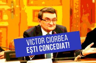 Domnule avocat, sunteti concediat! Petitia online pentru demisia lui Victor Ciorbea a ajuns la 120.000 de semnaturi
