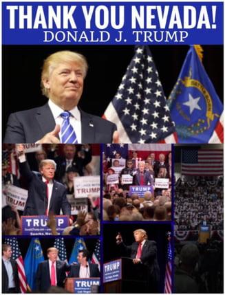 Donald Trump, tot mai aproape de a-si indeplini visul: A castigat si in Nevada
