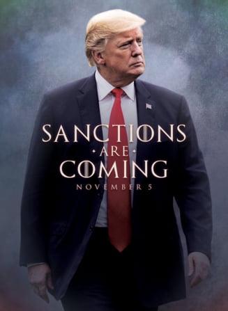 "Donald Trump a avertizat Iranul intr-o maniera ""Game of Thrones"". HBO si actritele din serial au reactionat imediat"