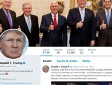 Donald Trump a incalcat Constitutia cand a blocat oameni pe Twitter, a decis un judecator