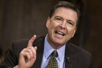 Donald Trump l-a demis pe directorul FBI, James Comey