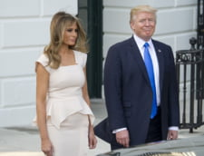 Donald Trump si Melania, intalnire oficiala