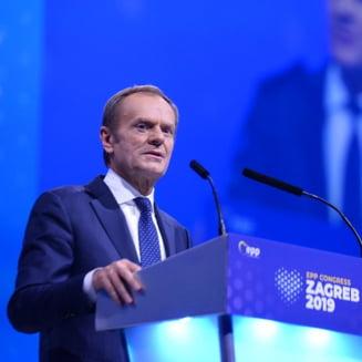 Donald Tusk, ales presedinte al Partidului Popular European pentru urmatorii trei ani