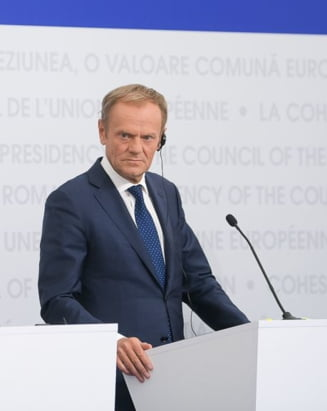 Donald Tusk, mesaj in limba romana: Ati organizat un summit exceptional. Toata Europa s-a indragostit de dumneavoastra