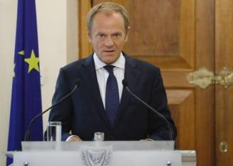 Donald Tusk, mesaj in limba romana pentru noul premier Orban