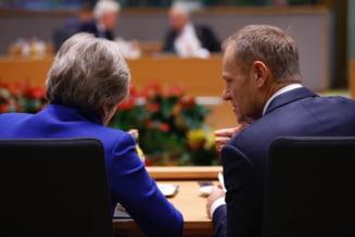 Donald Tusk e dezamagit de May: N-a fost capabila sa asigure majoritatea pentru acord. Ce se intampla cu Brexitul?