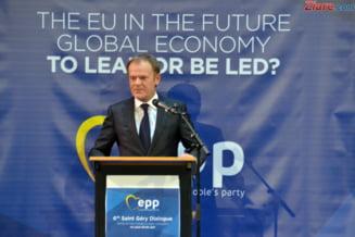 Donald Tusk recomanda statelor UE sa accepte amanarea datei Brexit-ului