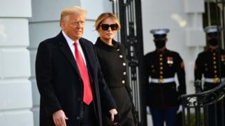 Donald si Melania Trump, vaccinati in secret, la Casa Alba, in ianuarie