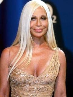 Donatella Versace va crea pentru H&M