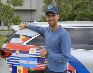 Donatie impresionanta facuta de Novak Djokovic