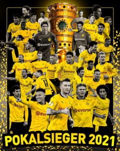 Dortmund a castigat Cupa Germaniei dupa ce a demolat-o in finala pe Leipzig