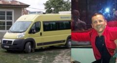 Dosar penal pe numele primarului din Colti, pentru ca a condus microbuzul scolar din comuna, fara sa aiba acest drept