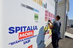 Dosar penal pentru construirea spitalului modular de la Letcani. Politistii cer toata documentatia referitoare la achizitii