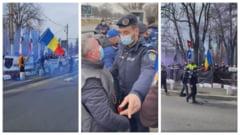 Dosar penal si amenzi de 10.000 de lei pentru sindicalistii din Politie in urma protestului de la Cotroceni