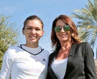 """Doua """"zeite"""" la Indian Wells: Ce spune Nadia Comaneci despre Simona Halep"""