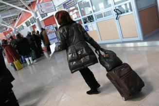 Doua aeronave Lufthansa cu destinatia Cluj Napoca au aterizat la Sibiu din cauza conditiilor meteo nefavorabile