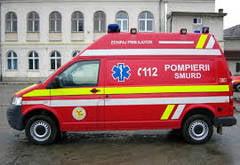 Doua autobuze s-au ciocnit in Satu-Mare: 20 de oameni raniti