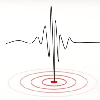 Doua cutremure de peste 3,5 grade in zona Vrancea in mai putin de doua ore
