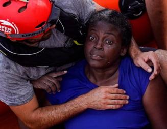 Doua femei si un copil au fost lasati sa moara in Marea Mediterana (Video)