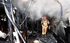 Doua incendii cu victime, in 24 de ore. Un barbat a ars de viu in propria locuinta