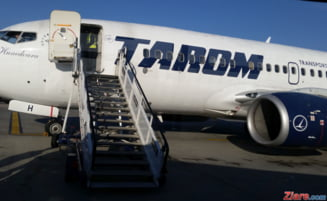 Doua incidente intr-o singura zi cu avioane TAROM: O aeronava s-a intors din drum, alta a ratat decolarea