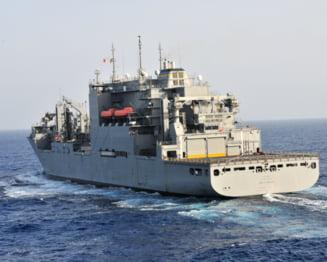 Doua nave americane s-au ciocnit in Golful Aden