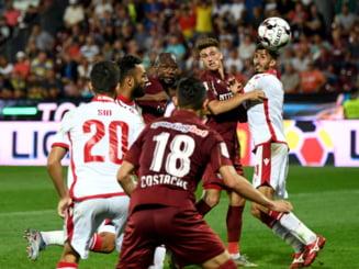 Doua recorduri negative istorice bifate de Dinamo Bucuresti dupa infrangerea cu CFR Cluj din Liga 1
