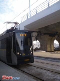 Doua tramvaie s-au ciocnit la Pasajul Basarab, din Bucuresti