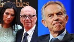 Dovada ca Tony Blair a avut o aventura cu fosta sotie a mogulului Rupert Murdoch