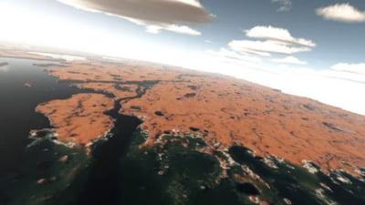 Dovada vietii pe Marte?