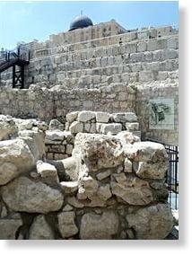 Dovezi ale Primului Templu al crestinatatii scoase la iveala, in Ierusalim