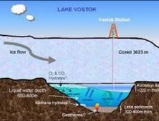 Dovezi ale vietii extraterestre descoperite sub gheata din Antarctica