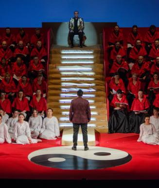 Dragana Radakovic si Calin Bratescu, invitati in spectacolul Turandot de pe scena Operei Nationale Bucuresti