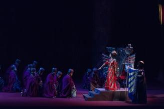 Dragana Radakovic si Dragoljub Bajic, invitati special in spectacolul Nabucco de pe scena Operei Nationale Bucuresti