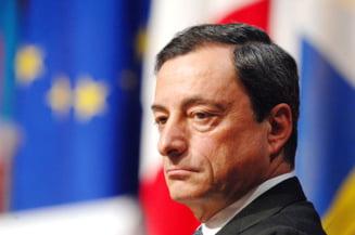 Draghi dezamageste Europa: BCE nu mai da bani gratis