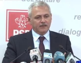 Dragnea: Colegii le-au cerut lui Shhaideh si Plumb sa nu demisioneze. Toader trebuie sa aiba o pozitie
