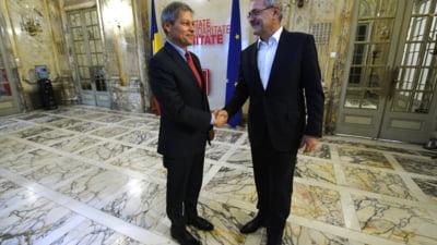 Dragnea, dupa intalnirea cu Ciolos: Acum e guvern interimar, nu se mai lucreaza la capacitate maxima