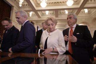 Dragnea a fost la Guvern sa vorbeasca cu Dancila despre rectificarea bugetara. Discutiile au durat o ora UPDATE