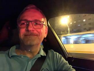 Dragnea a vorbit cu internautii pe Facebook, in timp ce se afla la volan. El a dictat si iubita lui Irina a scris
