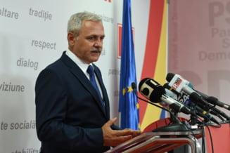 Dragnea ameninta: Daca PSD castiga alegerile, Iohannis, Ciolos si ministrii vor trebui sa plateasca in instanta