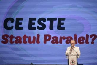 """Dragnea readuce in discutie """"statul paralel"""": Sunt oameni din conducerea SRI, SPP, Parchete. Seful lor e Iohannis"""