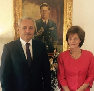Dragnea s-a intalnit cu principesa Margareta: Liderul PSD vrea o lege care sa ajute Casa Regala (Video)