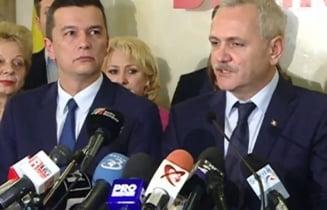 "Dragnea si Tariceanu isi vor imparti ministerele... ""relativ proportional"""